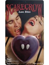 Adult Halloween Love Bite Deluxe Scarecrow Vampire Fangs Small Teeth LBF100