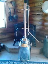 "Moonshine, Ethanol internal reflux 2"" still tower"