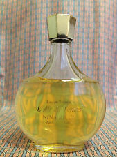 Vintage 70s L Air du Temps LARGE 3.3 oz 100ml Eau de Toilette LALIQUE Nina Ricci
