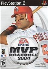 MVP Baseball 2004 -  Playstation 2 PS2 video game COMPLETE VG * EA Sports