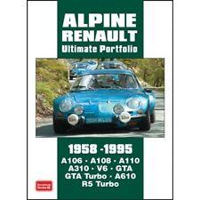 Alpine Renault Ultimate Portfolio 1958-1995  book paper