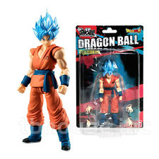 "3.75"" BLUE GOD GOKU figure DRAGON BALL SHODO resurrection f z SUPER SAIYAN ser 2"