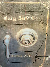 Cary Safe Co. Lettering, Emblem, Stickers, Decal, NEW Reproduction