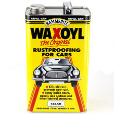 Waxoyl Rustproofer 5 Litre Clear For Kit Car, Classic, Bike