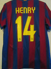 Barcelona 2009-2010 Home Henry Football Shirt Adult Medium /39510