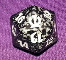 1 Black SPINDOWN Die Theros, 20 sided Spin Down Dice MtG Magic the Gathering d20