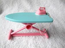 FISHER PRICE Loving Family Dream Dollhouse IRONING BOARD & IRON on string Rare