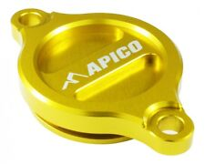 Apico Oil Filter Cover SUZUKI RMZ250 07-15 RMZ450 05-15 YELLOW