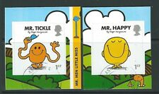 GREAT BRITAIN 2016 MR. MEN  SELF ADHESIVE PAIR FINE USED