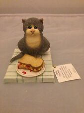 BNIB New COMIC and CURIOUS CATS Chip Butty #A5316 Border Fine Arts