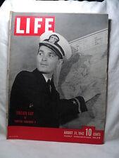 Life Aug 31 1942 ENSIGN GAY TORPEDO SQUADRON 8 Disney