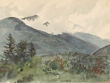 CHARLES DE WOLF BROWNELL AMERICAN WHITE MOUNTAINS FERNALDS HILL PRINT BB5080A