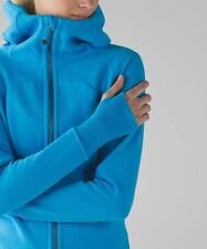 L014 NWT LULULEMON SCUBA HOODIE III WOMEN JACKET SIZE 4 in KAYAK BLUE W BAG $118