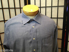 Burberrys Of London USA  French Cuff Dress Cotton Shirt Mens Size 17 33