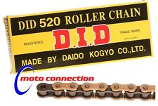 DID 520 Chain Gold / Black for HONDA CR125/250 CRF250/450 Motocross - All years