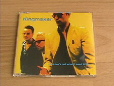 KINGMAKER - SATURDAY'S NOT WHAT (RARE DELETED CD SINGLE)