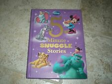 5-Minute Snuggle Stories by Disney Book Group Staff (2013, Hardcover) Free Ship!