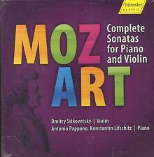 Dmitry Sitkovetsky MOZART Complete Sonatas for Piano and Violin CD NEW box