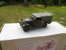 VEHICULE  MILITAIRE ASAM REF HT 234 M3A1 WHITE SCOUT CAR POLISH ARMY MINT BOX