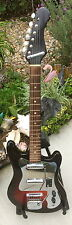"FABULOUS VINTAGE 60'S ZEN ON/ST. GEORGE/TEISCO GUITAR ""GREAT CHROME"""