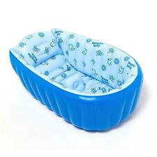 Summer Portable Baby/Kid/Toddler Inflatable Bathtub Newborn Thick Green Bath Tub