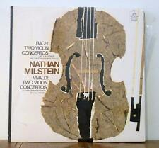Nathan Milstein Bach/Vivaldi:Two Violin Concertos Angel 36010 Mono NM Shrinkwrap