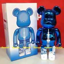 Be@rbrick 2015 Skytree Town 400% Sky Tree Metallic Light Blue Tower Bearbrick
