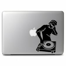 "DJ Music Turntable Controller for Macbook Air Pro 13 15 17"" Laptop Decal Sticker"
