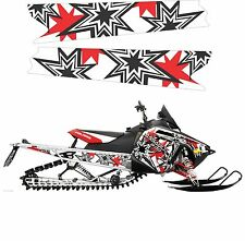 POLARIS RUSH PRO RMK 600 800 INDY ASSAULT 120 144 155 163 TUNNEL DECAL STICKER 4