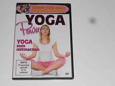 Power Yoga - Yoga zum mitmachen ( DVD ) mit  Jeanette Delembre ( NEU & OVP )