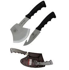 Smith and Wesson Bullseye Combo Pack S. Steel Blades & Black Rubberized Handles