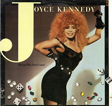 "JOYCE KENNEDY - Wanna Play Your Game! 1985 LP 12"" SIGILLATO"