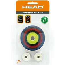 HEAD XTREMESOFT OVERGRIP XTREME SOFT OVER GRIP TENNIS 12 PACK MIXED COLOUR PADEL