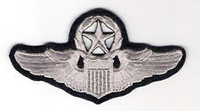 U.S. AIR FORCE PATCH -  COMMAND PILOT WINGS