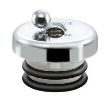 Flip It Replacement Universal Tub Drain Stopper, Chrome Finish.