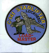 LOCKHEED C-141 STARLIFTER LM LOADMASTER USAF Transport Squadron Crew Patch