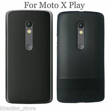 Motorola Moto X Play Soft Line Rubberized Line Back Case Cover For Moto X Play