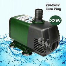 220V Submersible Pump 2800L/H Aquarium Powerhead Pond Fountain Water Hydroponic