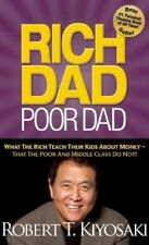 NEW Rich Dad Poor Dad by Robert T Kiyosaki BOOK (Paperback) Free P&H