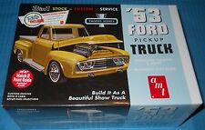 AMT 1953 Ford Pickup-Trophy Series  882 FS Box 1/25 Scale-Model Car Swap Meet