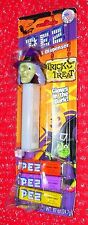 Halloween Pez Witch  on  Trick or Treat GLOWS IN THE DARK! card  China