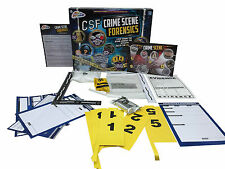 CSI CRIME SCENE FORENSICS POLICE INVESTIGATION TOY GAME SET