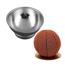 3D Sport Half Ball Sphere Cake Pan Baking Mold Bakeware Tin Kitchen Mould Tool