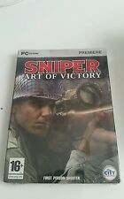 Sniper Art of Victory - PC DVD - Brand New and Factory Sealed - FREE UK POST