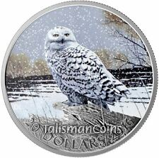 Canada 2016 Iconic Canadian Animals #9 Arctic Snowy Owl $20 Pure Silver Proof