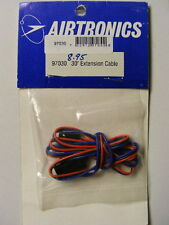 "AIRTRONICS #97030 R/C 30"" SERVO EXTENSION CABLE- 3 TABS ON CONNECTORS-NOT Z TYPE"
