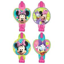 8 Disney Minnie Mouse Childrens Birthday Party Loot Favor Treat Blowouts