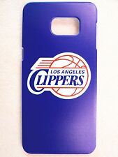 NBA Los Angeles Clippers Samsung Galaxy S6 Edge Plus Plastic One-Piece Slim Case