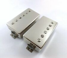 Tone Emporium TE-20 Custom`59 Pro PAF Humbucker Pickup Set Nickel / Braided wire