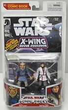 Star Wars Comic 2 Packs Wedge Antilles & Borsk Fey'lya X-Wing Rogue Squadron #32